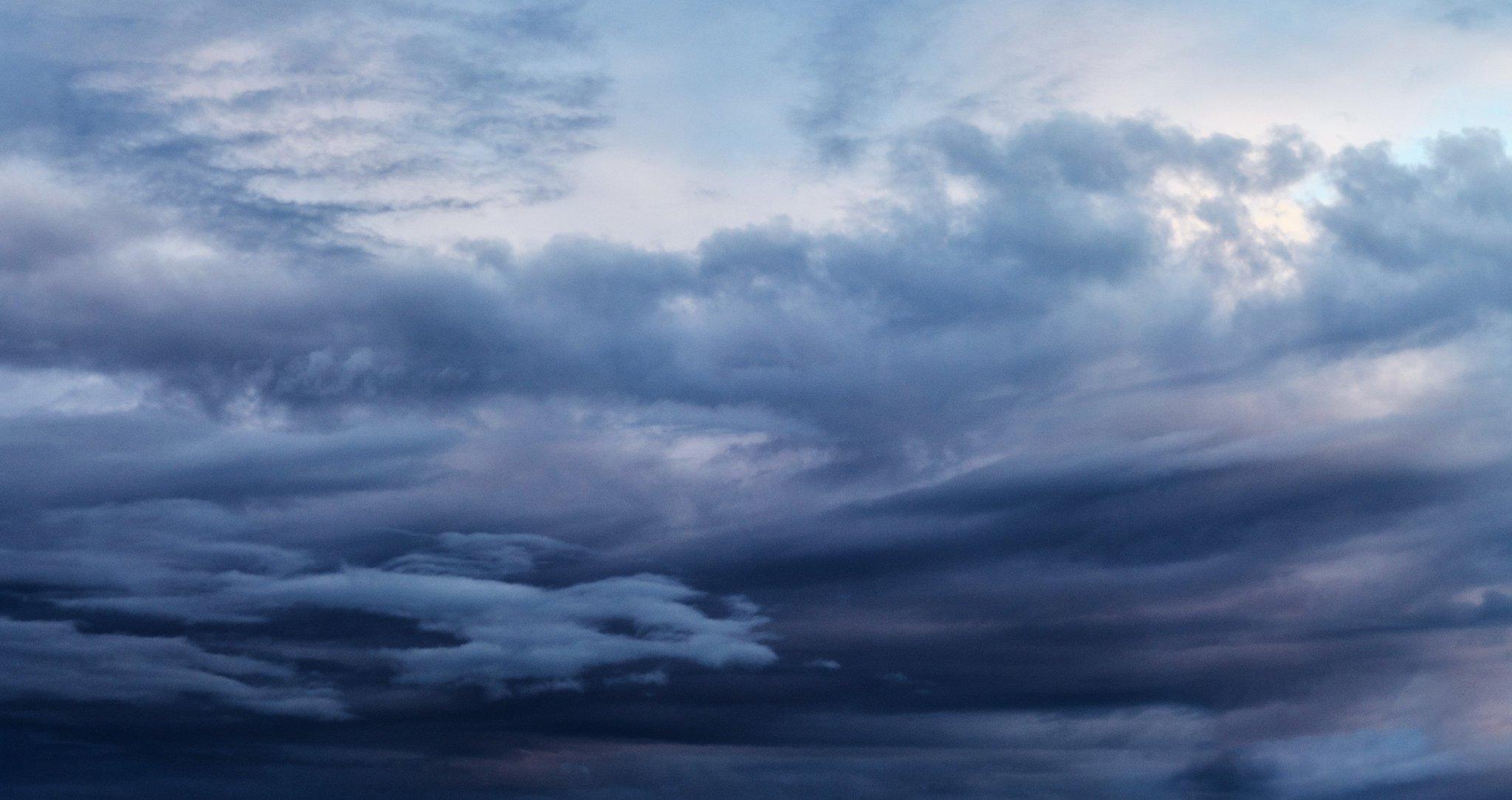Закатные облака над Золотой Долиной в Приморском крае