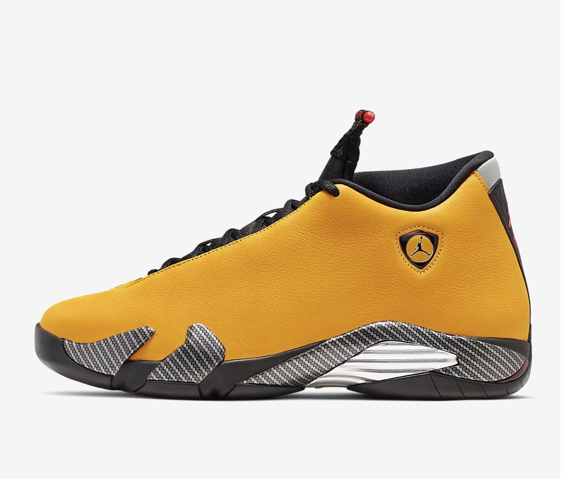10b8f66d663 Available now: Air Jordan 14 Ferrari Yellow https://t.co/OKVEb7yYf5 ·  #Heskicks https://bit.ly/2IZEBn3