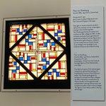 #museumdelakenhal #leiden #openagain #afterrestoration #artdeco #stainedglass #window #theovandoesburg