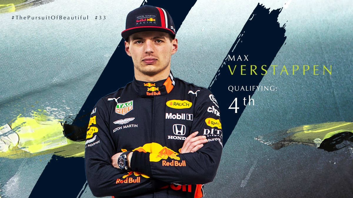 With the #Quali results in, it's P4 for @Max33Verstappen and P9 for @PierreGASLY. Bring on tomorrow!  #AstonMartinRedBullRacing #FrenchGP