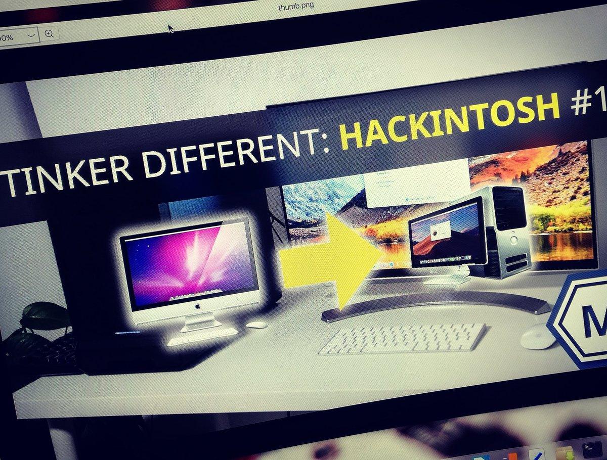 الوسم #hackintosh على تويتر