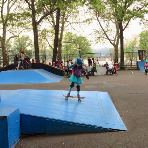 .@NYCParks breaks ground on new Upper West Side skate park in Riverside Park: on.nyc.gov/2WZCRiA