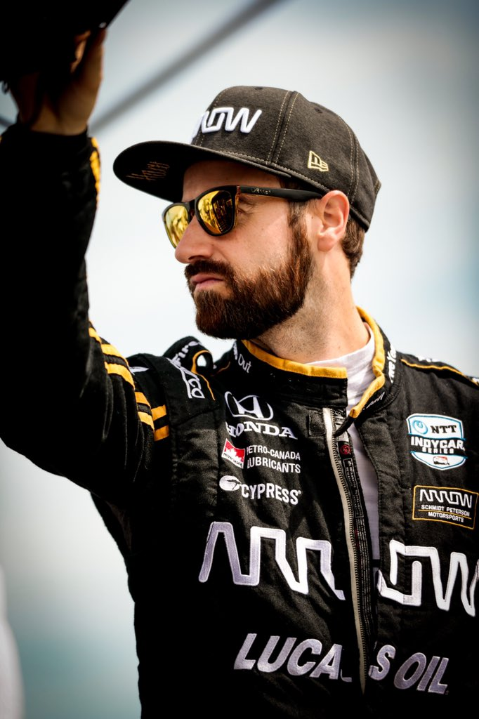 The exact moment I was told that a brat is not an acceptable breakfast food for a driver.ERRONEOUS!  Busy day ahead... Practice 3 at 12pm ET and qualy at 4pm ET.Catch it all on @NBCSports!  #5ToTheFront // @ArrowGlobal // @spmindycar // @hondaracing_hpd // @roadamerica<br>http://pic.twitter.com/yyPlIRdvxo