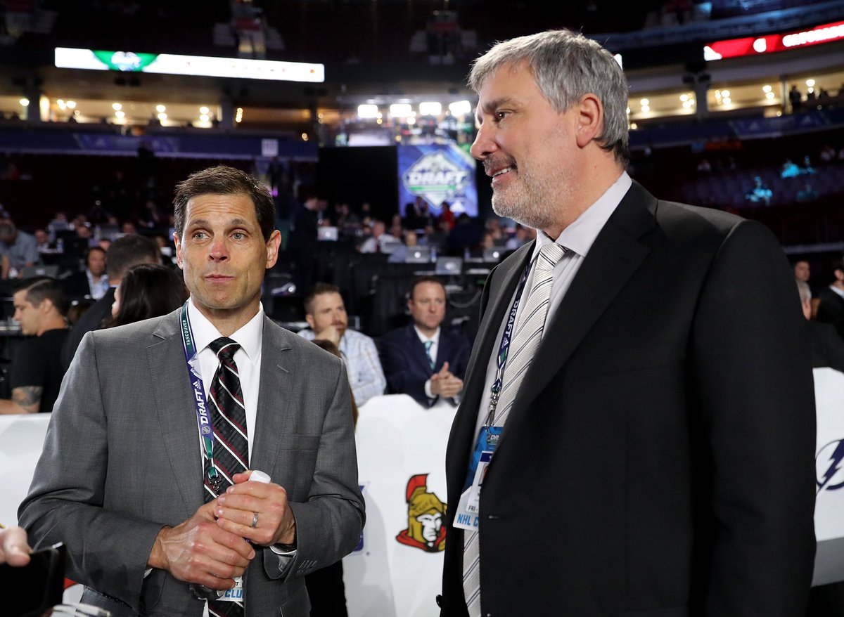 Day 2 of the #NHLDraft in Vancouver begins at 1 p.m. ET on @NHLNetwork. Here's where we're picking this afternoon: Round 3️⃣ | 92 Round 5️⃣ | 154 Round 6️⃣ | 185 Round 7️⃣ | 192