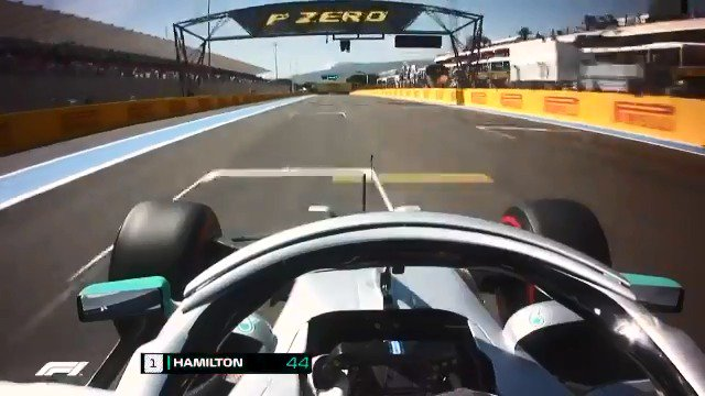 Onboard with @LewisHamilton as he takes the #PirelliPolePositionAward in France 🚀  Storming to the 86th pole of his F1 career 😮  #F1 #FrenchGP 🇫🇷 @pirellisport