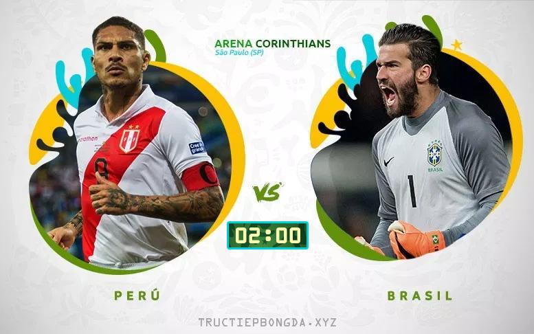 Xem lại: Peru vs Brazil