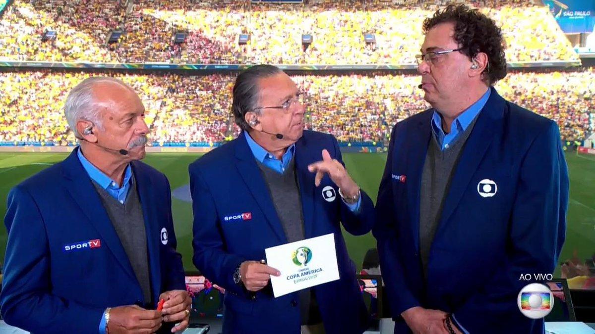 A bola vai rolar já já na #CopaAmérica! Peru 🇵🇪 x Brasil 🇧🇷#FutebolNaGlobo