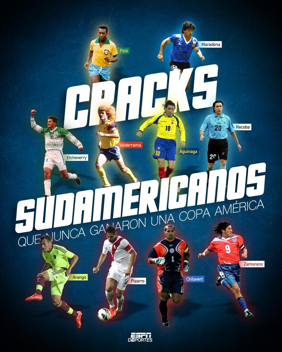 Ellos son algunos de los jugadores que no levantaron la #CopaAmérica 🏆 https://t.co/RsqCXcprdi