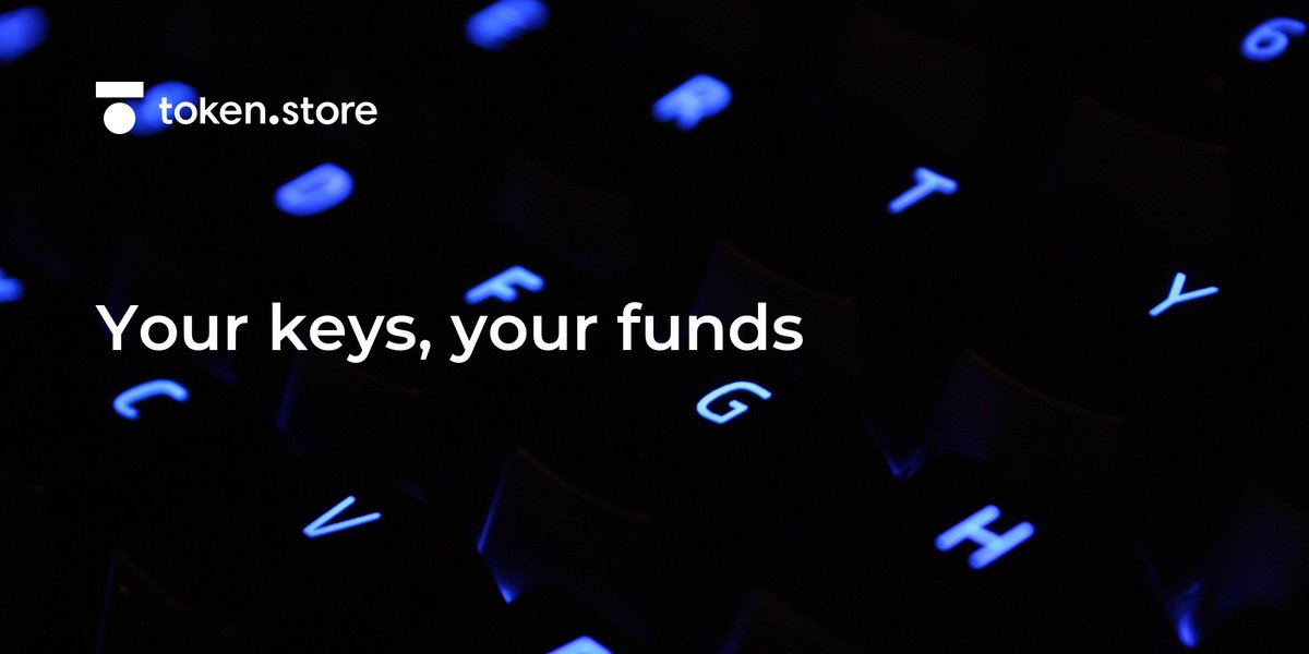 #Trustless exchanges have never had their wallets hacked or stolen your funds, as they do not hold the keys to them. Funds at http://token.store ETH and EOS are held in smart contracts: only users who hold the private key to the wallet which deposited them can withdraw them
