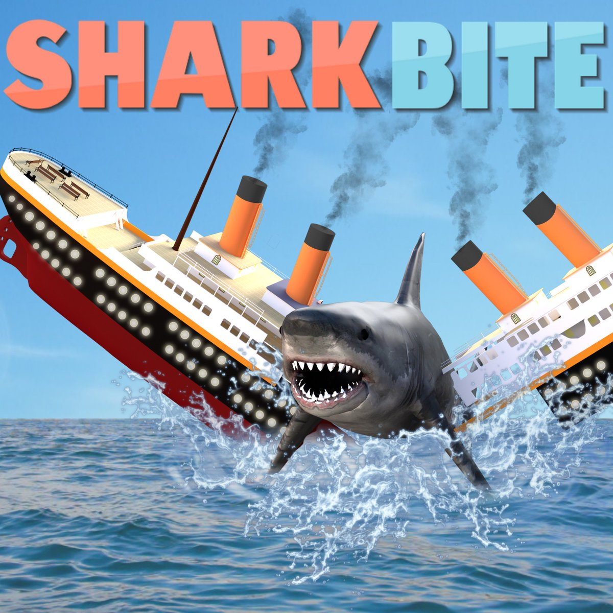 Simon On Twitter The Sharkbite Titanic Update Is Now Live In Servers Use Code Titanic For 50 Shark Teeth This Is Our Craziest Update Icon Yet Thanks Siros Art For Help With The Icon