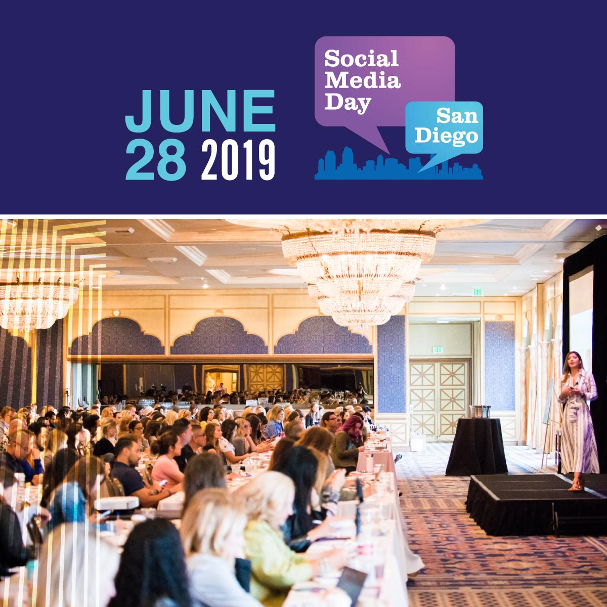 #SMDaySD is just days away. There's still time to grab your tickets and save! Prices jump again Monday, 6/24 at midnight. Secure your spot, and we'll see you there 😎 https://socialmediadaysandiego.com