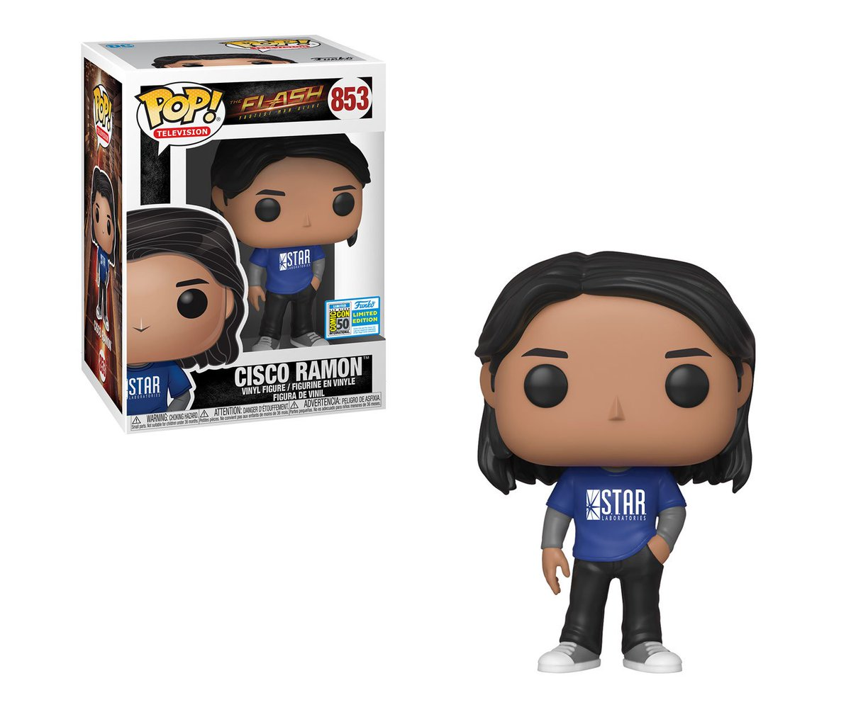 RT & follow @OriginalFunko for a chance to WIN a #SDCC2019 exclusive Cisco Ramon Pop! #FunkoSDCC #SDCC50 #TheFlash