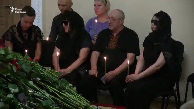 Прощание с Тымчуком. В Киеве проводили в последний путь координатора «Информационного сопротивления» https://t.co/bkonE8Styd