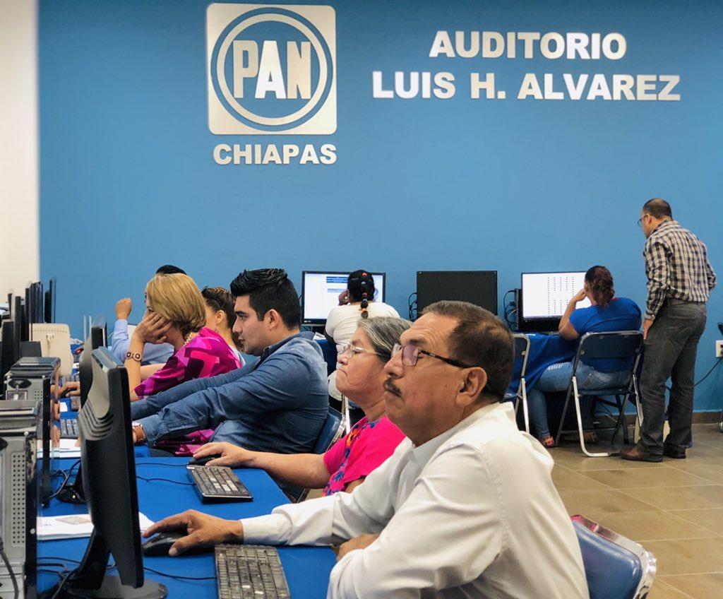 🔵 Hoy iniciamos con las evaluaciones para el Consejo Estatal en el estado de Chiapas. ¡Les deseamos mucho éxito a todas y todos los aspirantes!