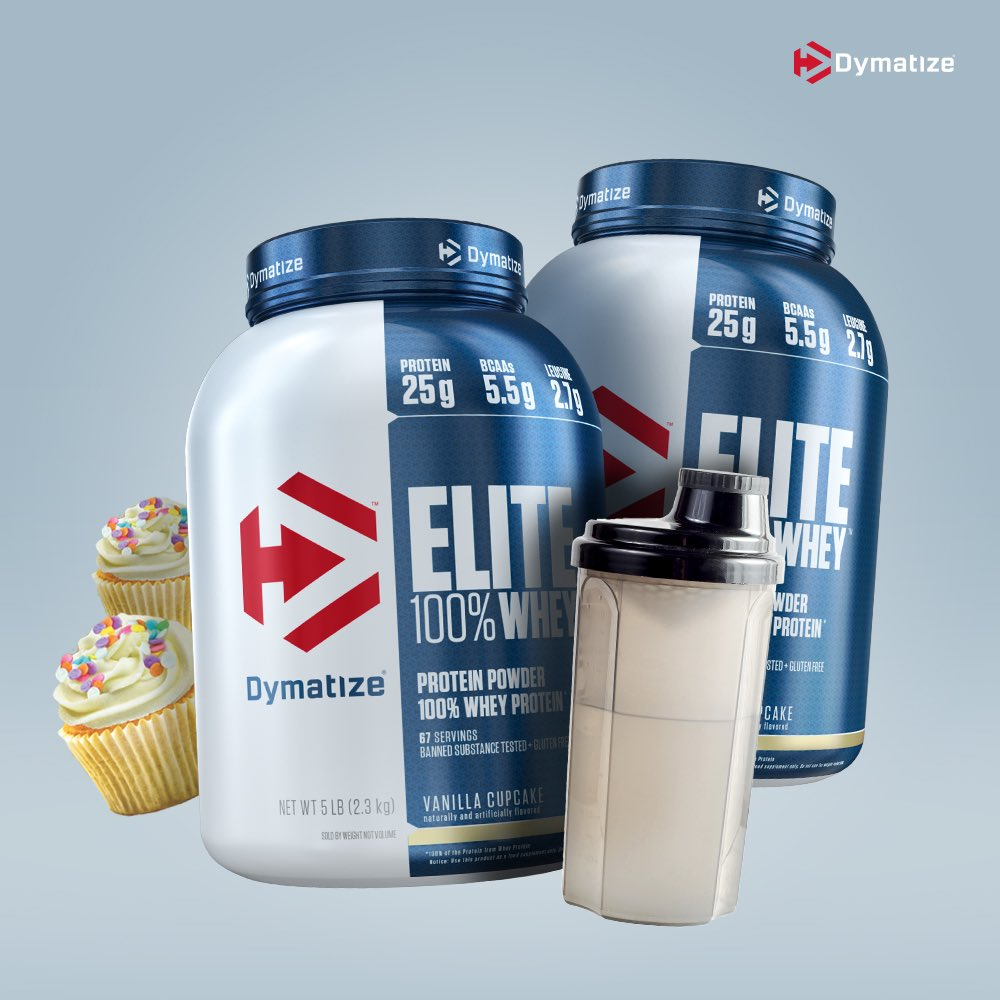 Get $5 off Dymatize Elite Whey protein at http://Amazon.com ! Click 👉 http://bit.ly/DymatizeElite   to shop now for delicious desert flavors!