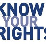 Image for the Tweet beginning: #LASD MESSAGE: Know Your Rights