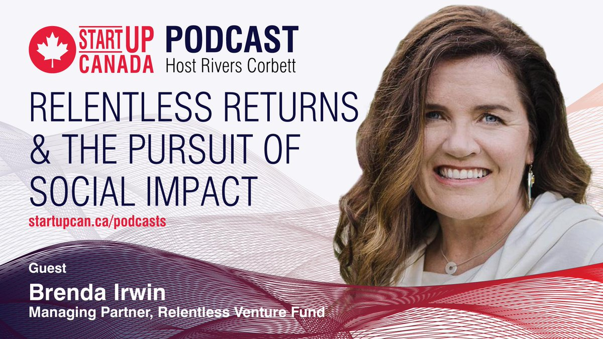 """I have more respect for entrepreneurs who are completely articulate about their competition."""" - Hear from @irwin_brenda of Relentless Pursuit Partners on the #StartupPodcast with @RiversCorbet at http://www.startupcan.ca/podcasts"""