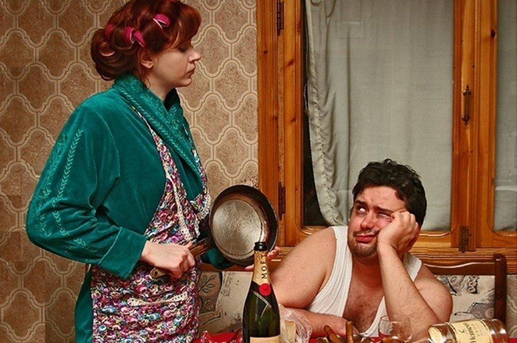 Смешная картинка кормить мужа
