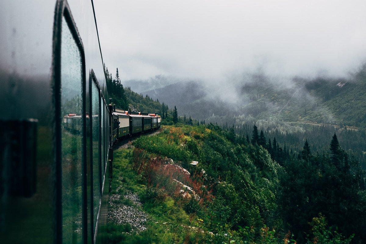Фото природы из поезда