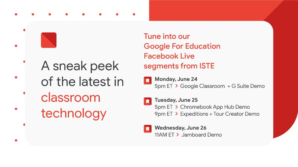 Join Haiku Deck inside the @google4edu booth @iste, tomorrow (6/25) between 10a.m.-12p.m. and 3p.m.-5p.m. We'll show you all the Haiku Deck tips and tricks to help make learning in your classroom fun and easy. https://t.co/poPaYb8Gz0 #ISTE19