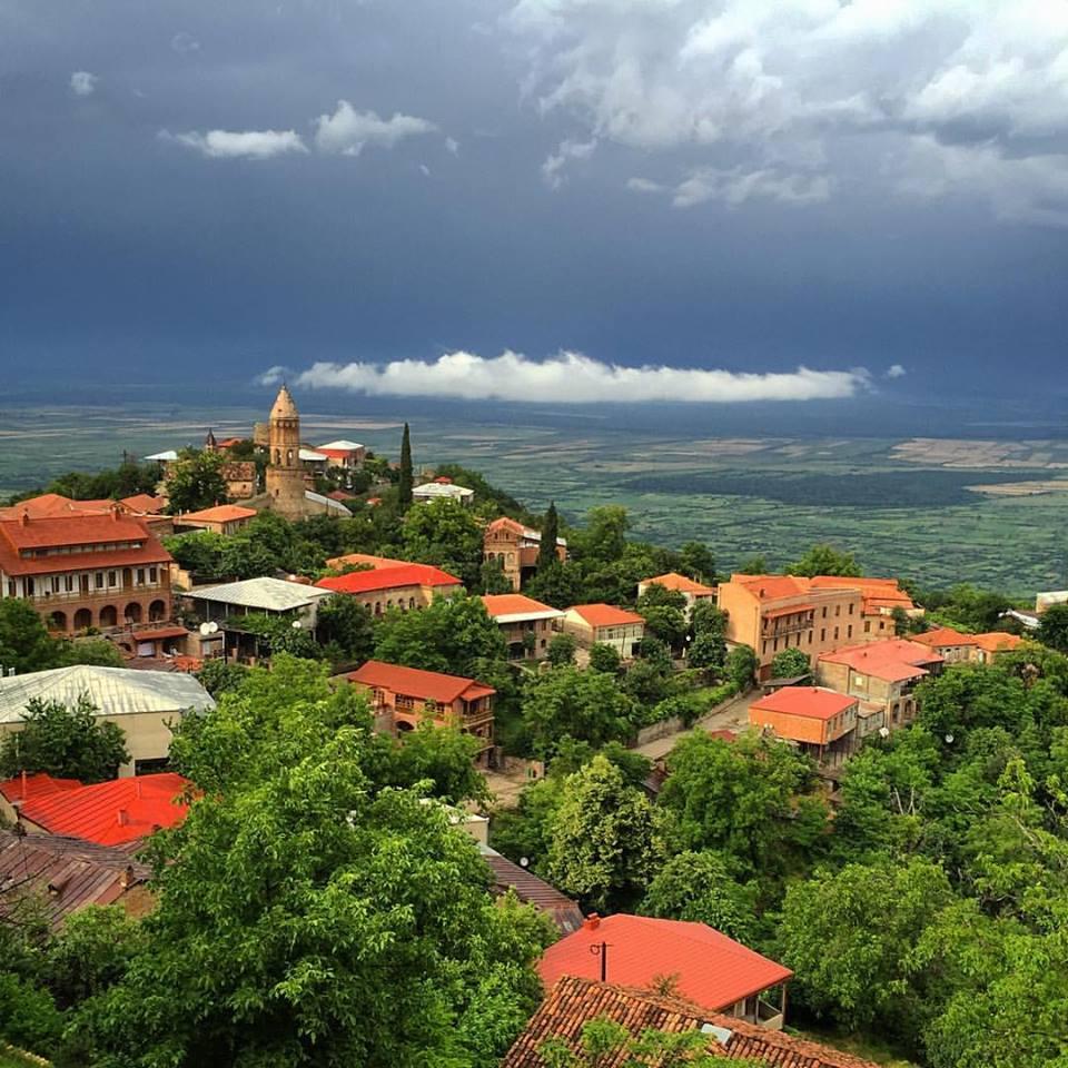 алазанская долина грузия фото