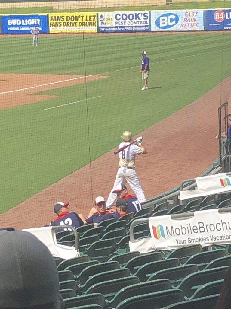 Congrats to Grady Cash playing in today's East Tennessee All Star game at Smokies Stadium. #borobaseball