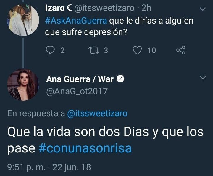 No seas como Ana, sé como Ibai.