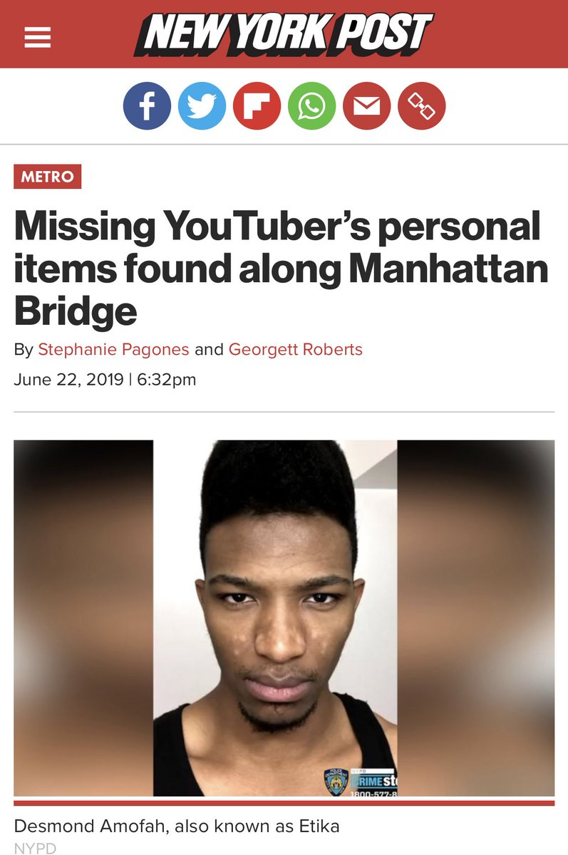 Guys , Etika might have actually jumped.