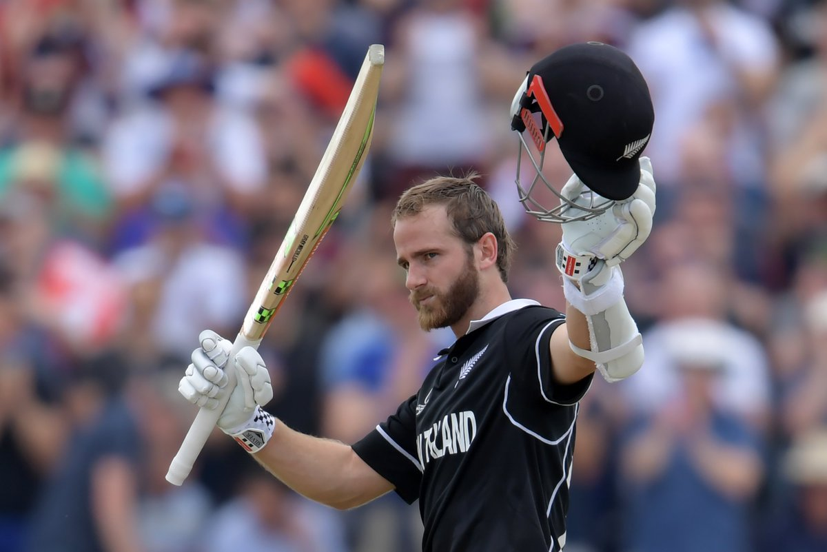 #KaneWilliamson continued his white-hot form, steadying the ship and scoring a magnificent 148, becoming just the third captain to score back-to-back @cricketworldcup tons.See his (and the rest of New Zealand's) best shots here 💥👇#BACKTHEBLACKCAPS | #CWC19