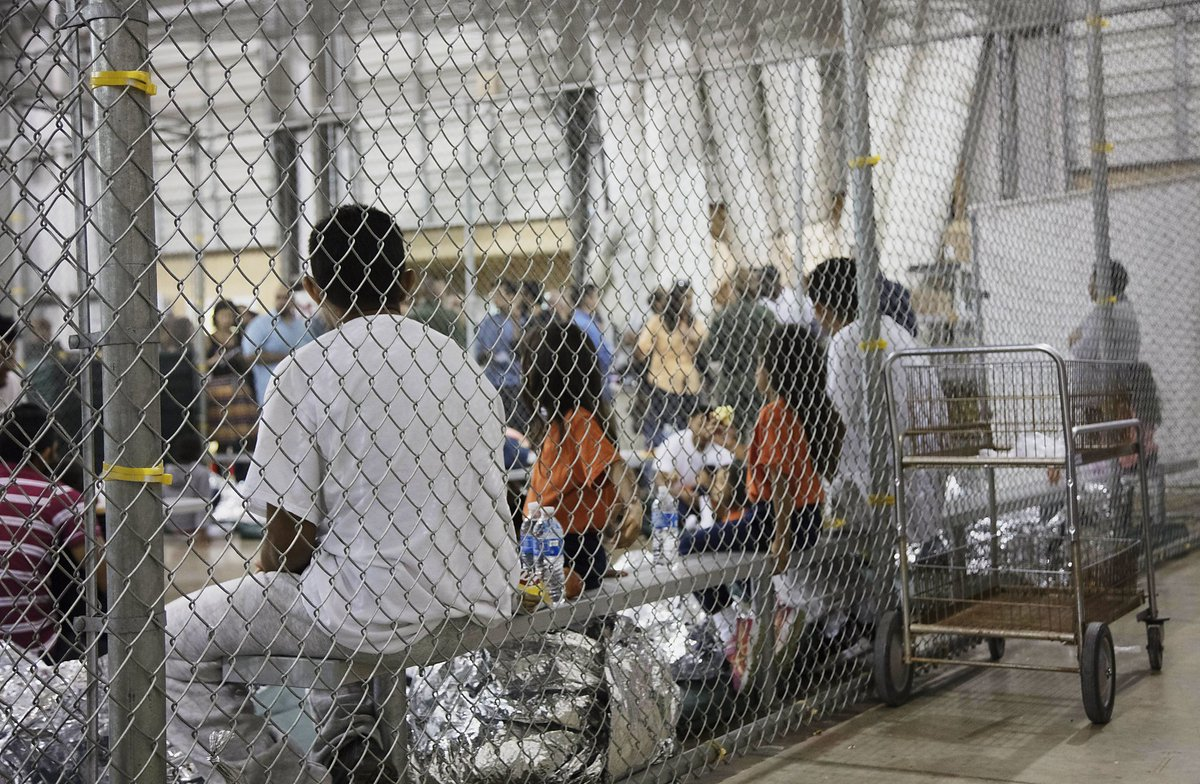 .@EdMarkey concentration camp: a place where large numbers of people, especially political prisoners or members of persecuted minorities, are deliberately imprisoned in a relatively small area with inadequate facilities. - #Webster  #CloseTheCamps #FamiliesBelongTogether