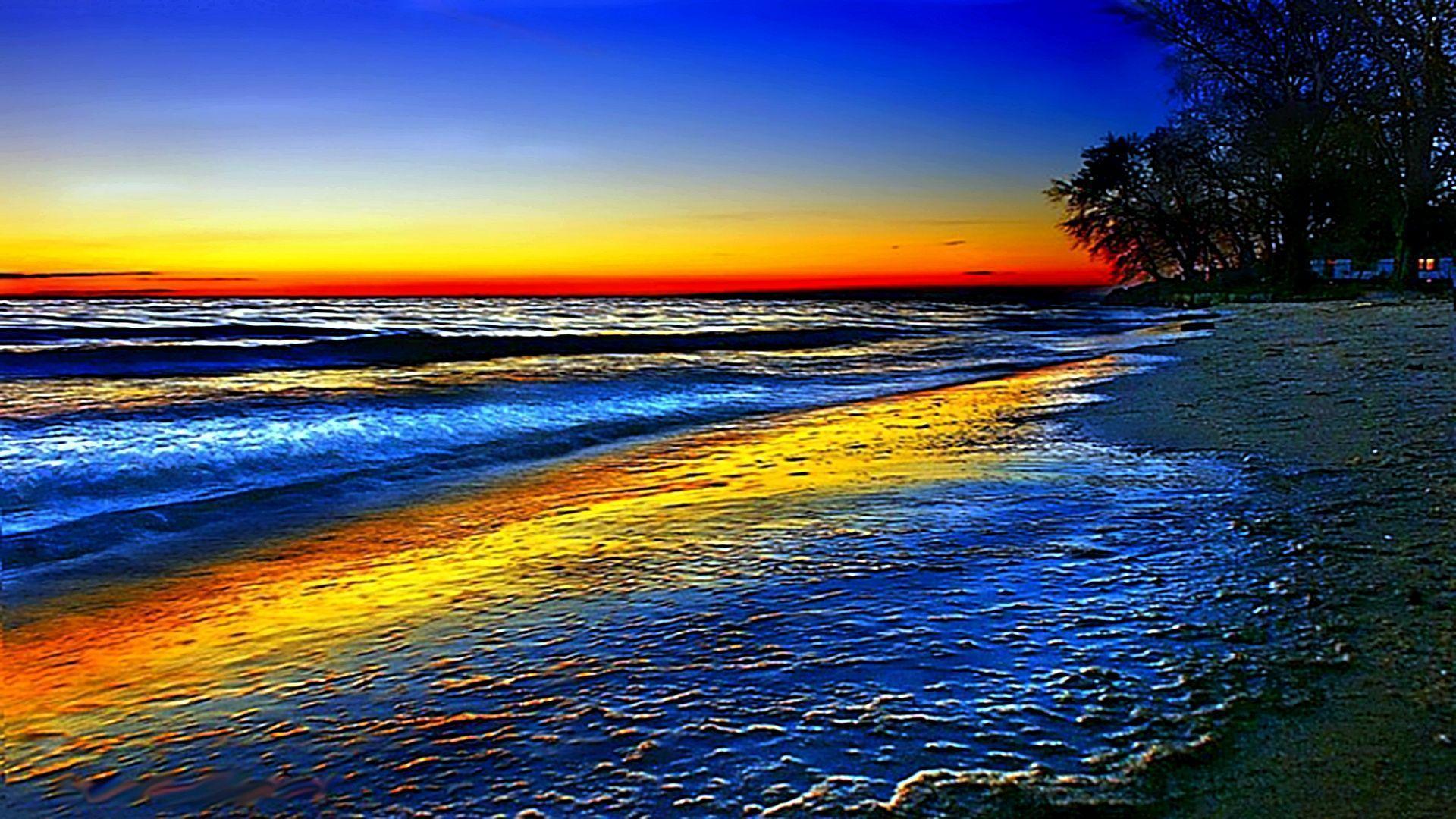 цветные моря картинки одеяло своими