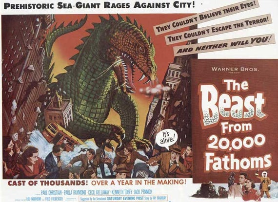 RT @MeTV: PREHISTORIC SEA-GIANT RAGES AGAINST CITY! OVER A YEAR IN THE MAKING! (It's alive #Svengoolie https://t.co/s3QwTvgXYm