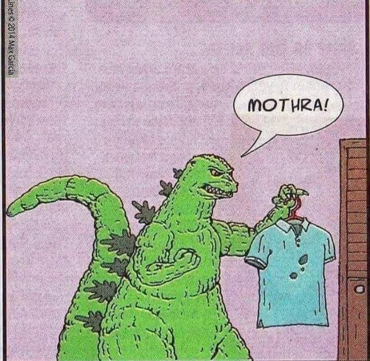 RT @BloodShedMyers: Meanwhile, Godzilla right now is having domestic issues #Svengoolie https://t.co/gNlLEcIgKm