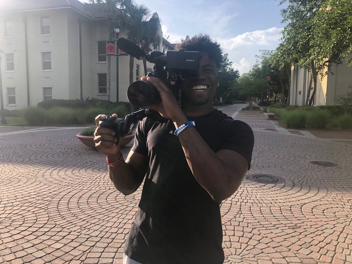 Thank you ⁦@KennyKennyMoe3⁩ for letting @Colts Productions hang w you & your incredible family this weekend! Great camp today! Can't wait to tell your story! Is there anything you CAN'T do? Don't take our jobs!!