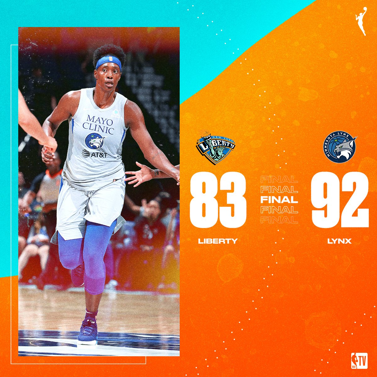 The @minnesotalynx get back to winning ways by defending home court! 💪