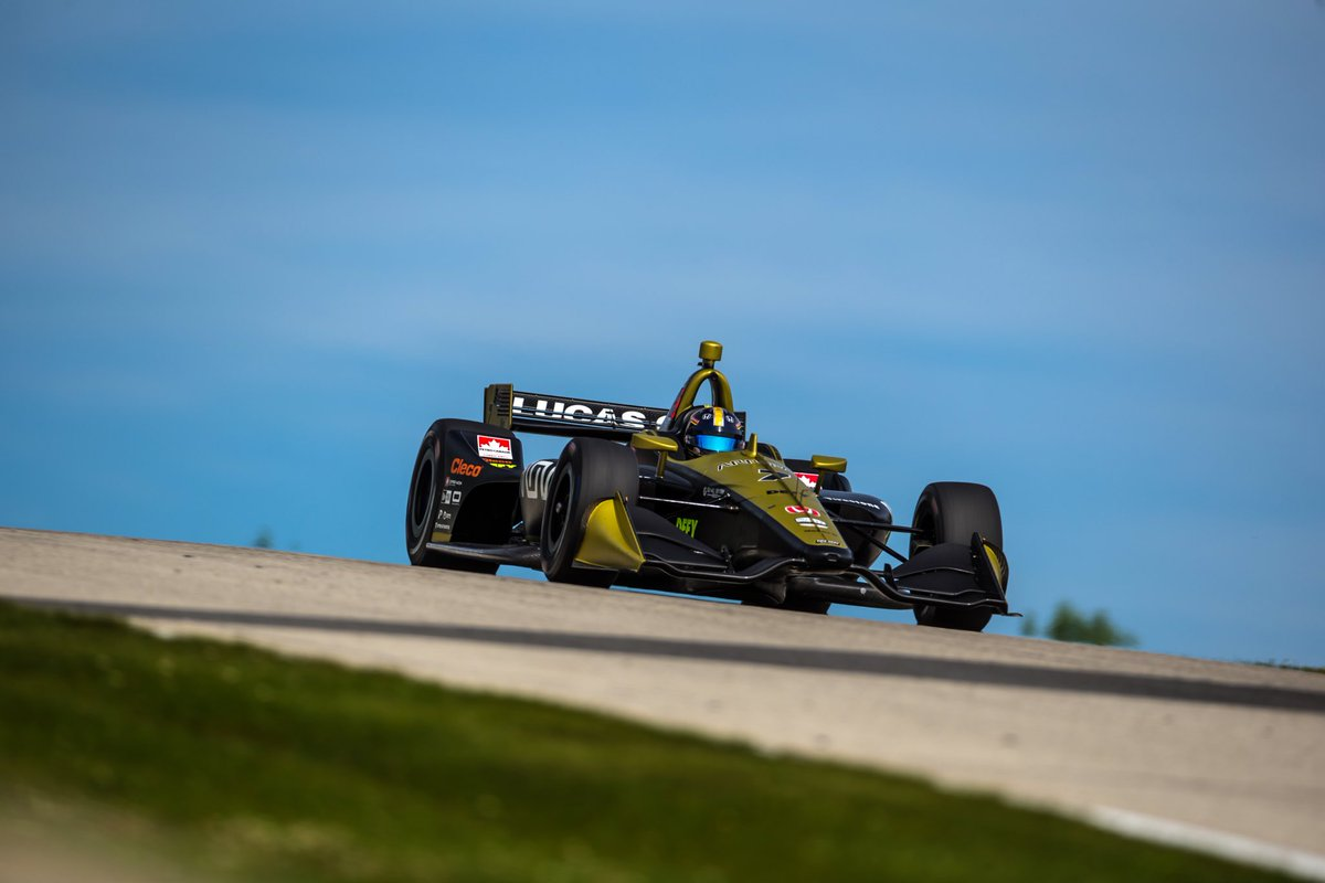 Challenging weekend so far @roadamerica . Amazing track, but not an easy one to master. Felt really good in Q and I was on a lap good enough for Q2 until I went wide in the carousel 😤. Lining up 17th tomorrow for the race! Looking forward to it #ME7 #INDYCAR