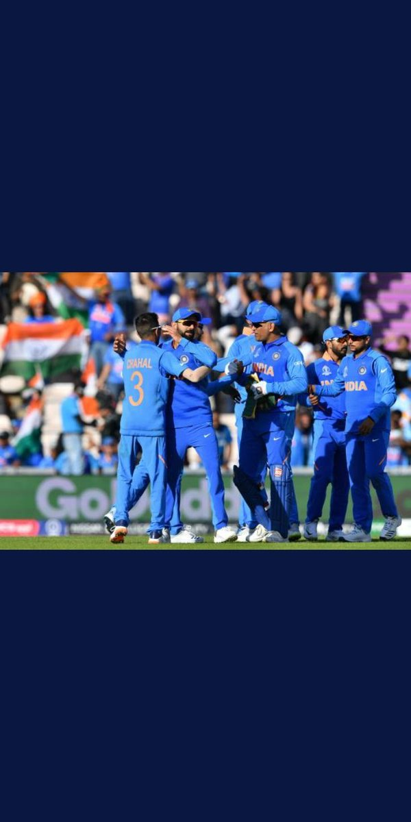 Congratulations #TeamIndia 6 more to go.!  #CWC2019