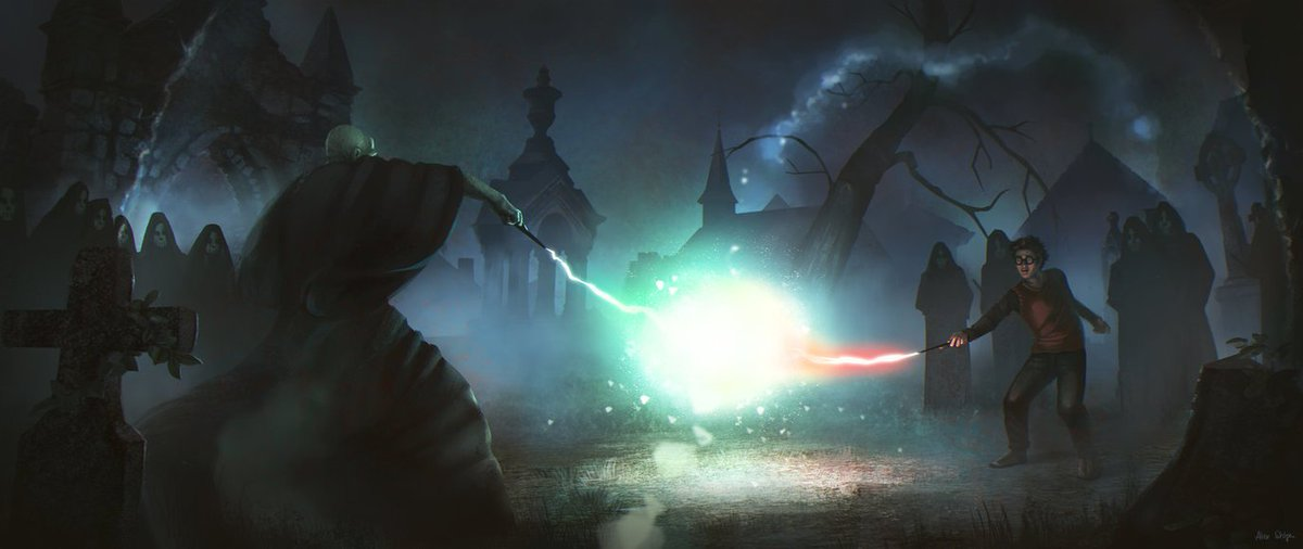 Harry Potter Lexicon On Twitter Voldemort Was Ready As Harry Shouted Expelliarmus Voldemort Cried Avada Kedavra A Jet Of Green Light Issued From Voldemort S Wand Just As A Jet Of Red Light