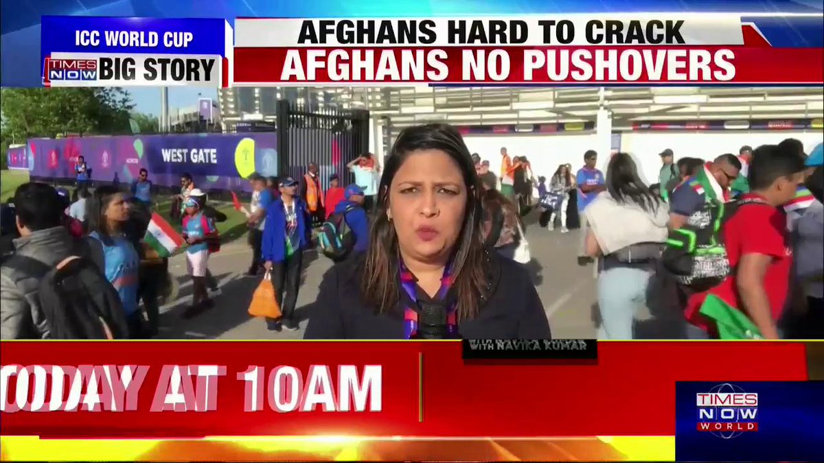 #CheerForTeamIndia | Mohammed Shami's hat-trick helped India win against Afghanistan. TIMES NOW's @karishmasingh22 reports from London.