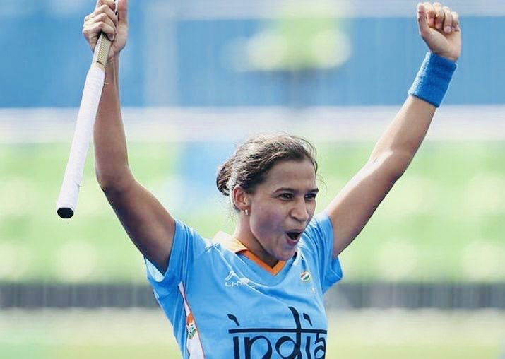 #KnowYourChampionWomen's #hockey captain @imranirampal has overcome all odds to become a star.⭐👉🏻Rani whose father was once a cart puller, 1st represented India at sr. level as a 14 yr old in 2009.👉🏻She'll be representing India at the final of the #FIHSeriesFinals today.🏑