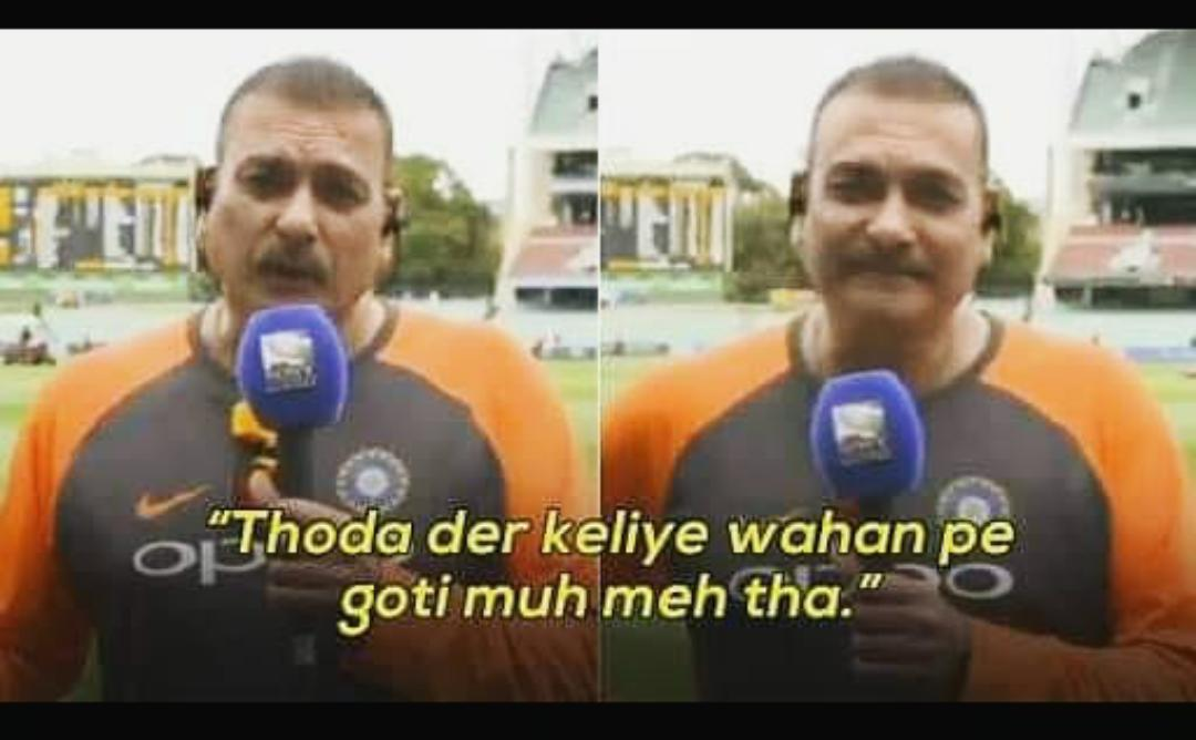 Post Match Interview #INDvNZ Le #TeamIndia Coach Ravi Sastri :