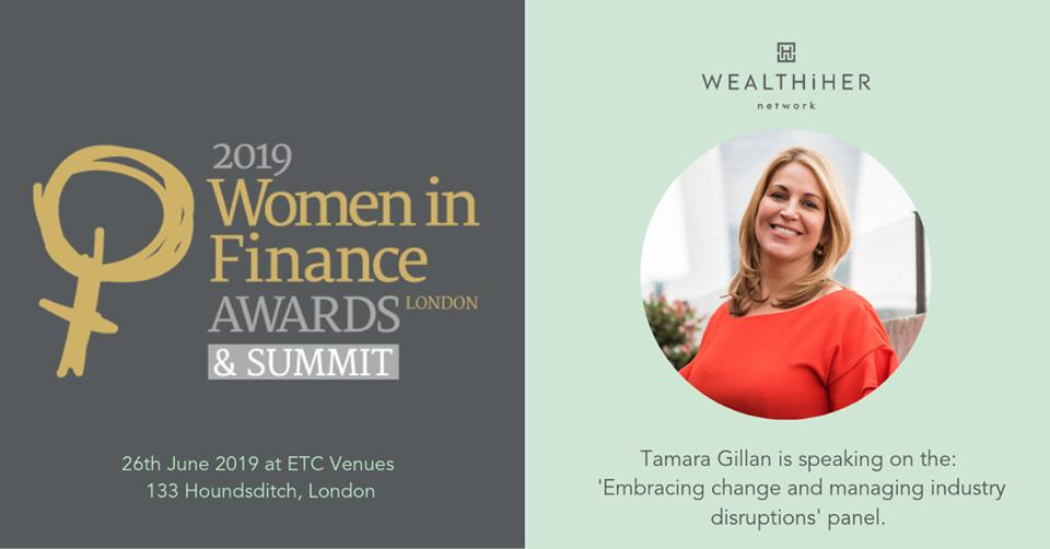 Our CEO Tamara Gillan is speaking at the #WomenInFinanceSummit this week #checkItOut @WIfinanceawards   https://t.co/TNnIoFuIZr