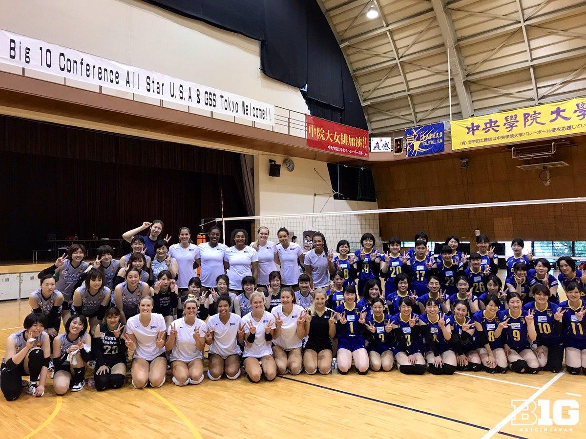 Thank you, GSS Tokyo Sunbeams! #B1GinJapan | #B1GinVolleyball