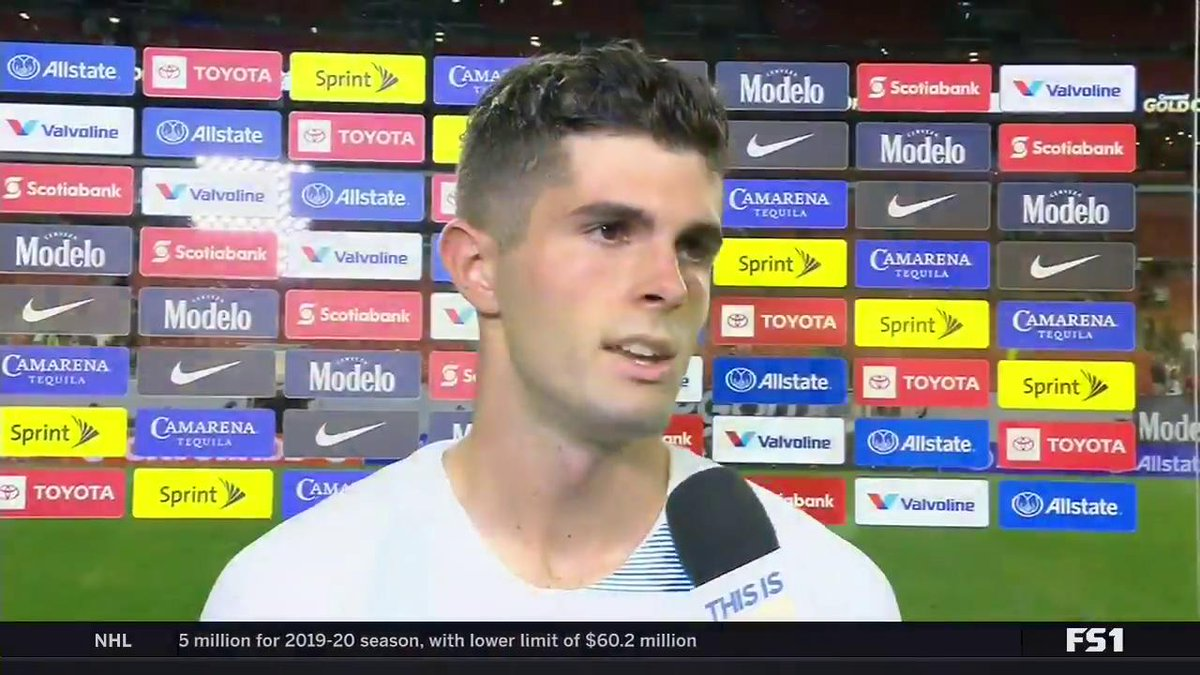 """""""I didn't like to say it, but I definitely had a little chip on my shoulder today and I hope you guys could see that.""""  @cpulisic_10 opens up after the redemption match against Trinidad and Tobago 💪"""