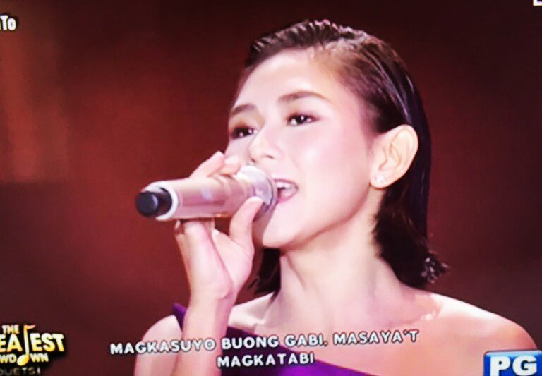 Sarah G has a power to melt everyone's heart with her amazing voice! PopSuperstar SarahG! #ASAPNatinTo