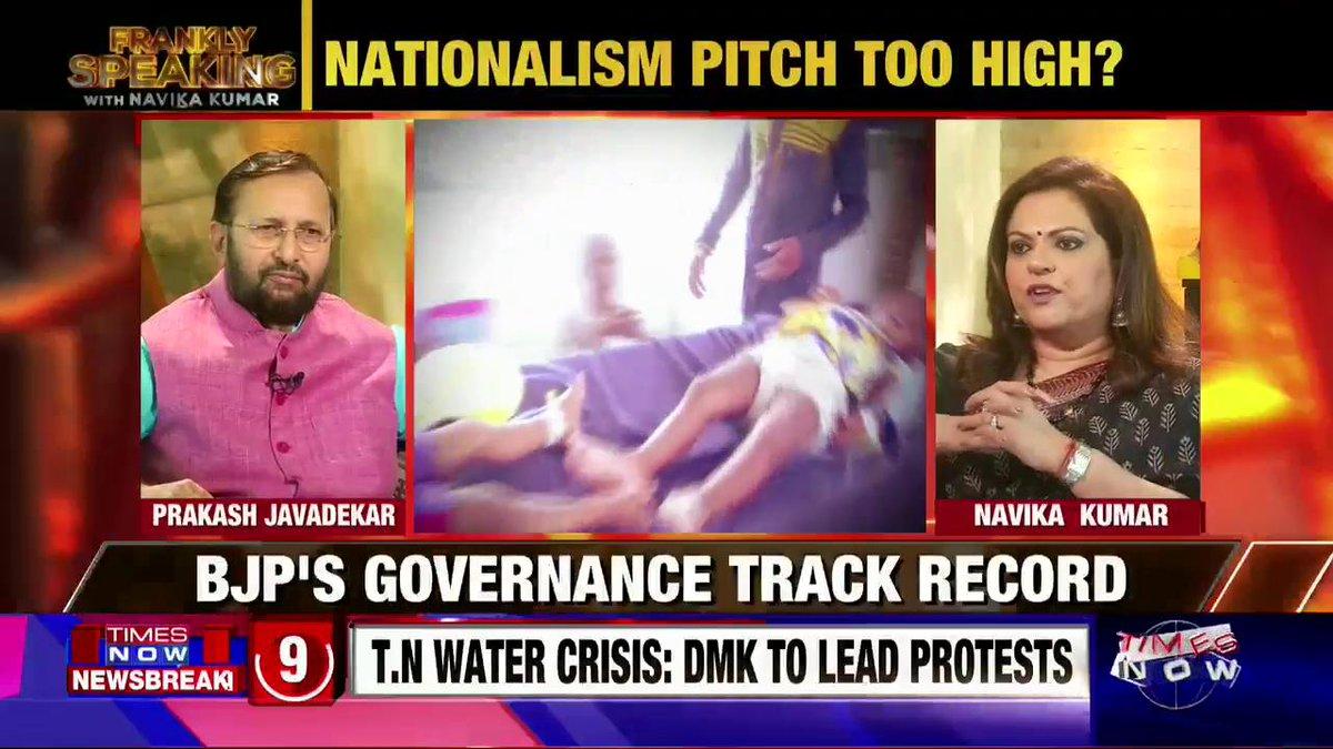 Union I&B Minister @PrakashJavdekar breaks his silence on #BiharChildDeaths. Watch #FranklySpeakingWithJavadekar with @navikakumar.