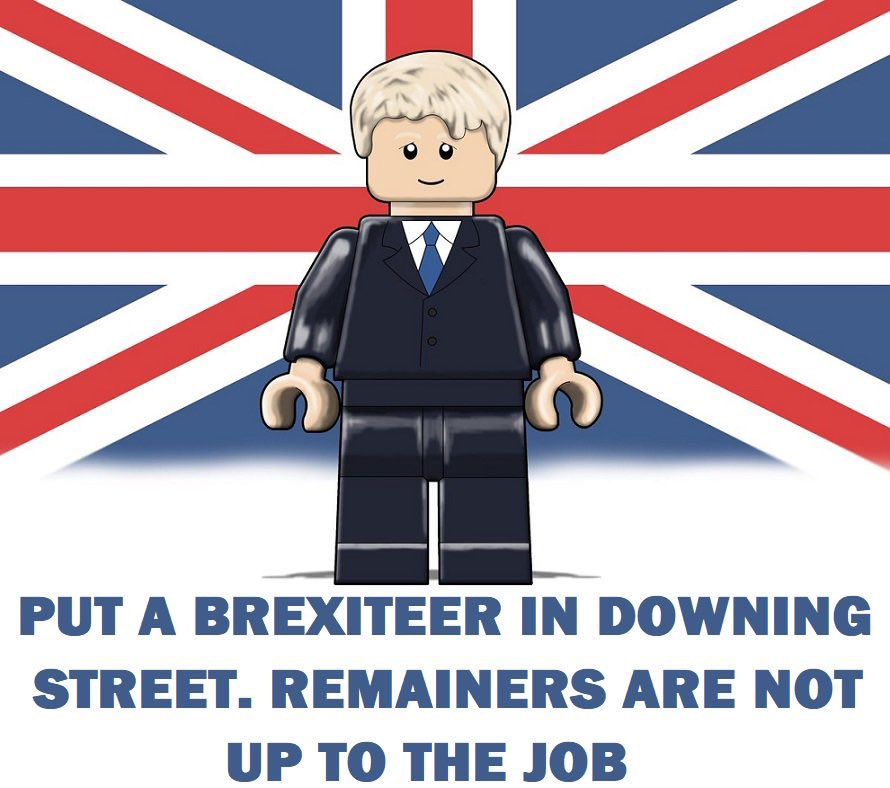 The most important thing for the UK is to get a brexiteer into Downing Street. Remainers are not up to the job as May proved, they don't believe in Brexit,don't believe in Britain & won't break from EU rule. Only a brexiteer wants Brexit to succeed & will work to transform the UK