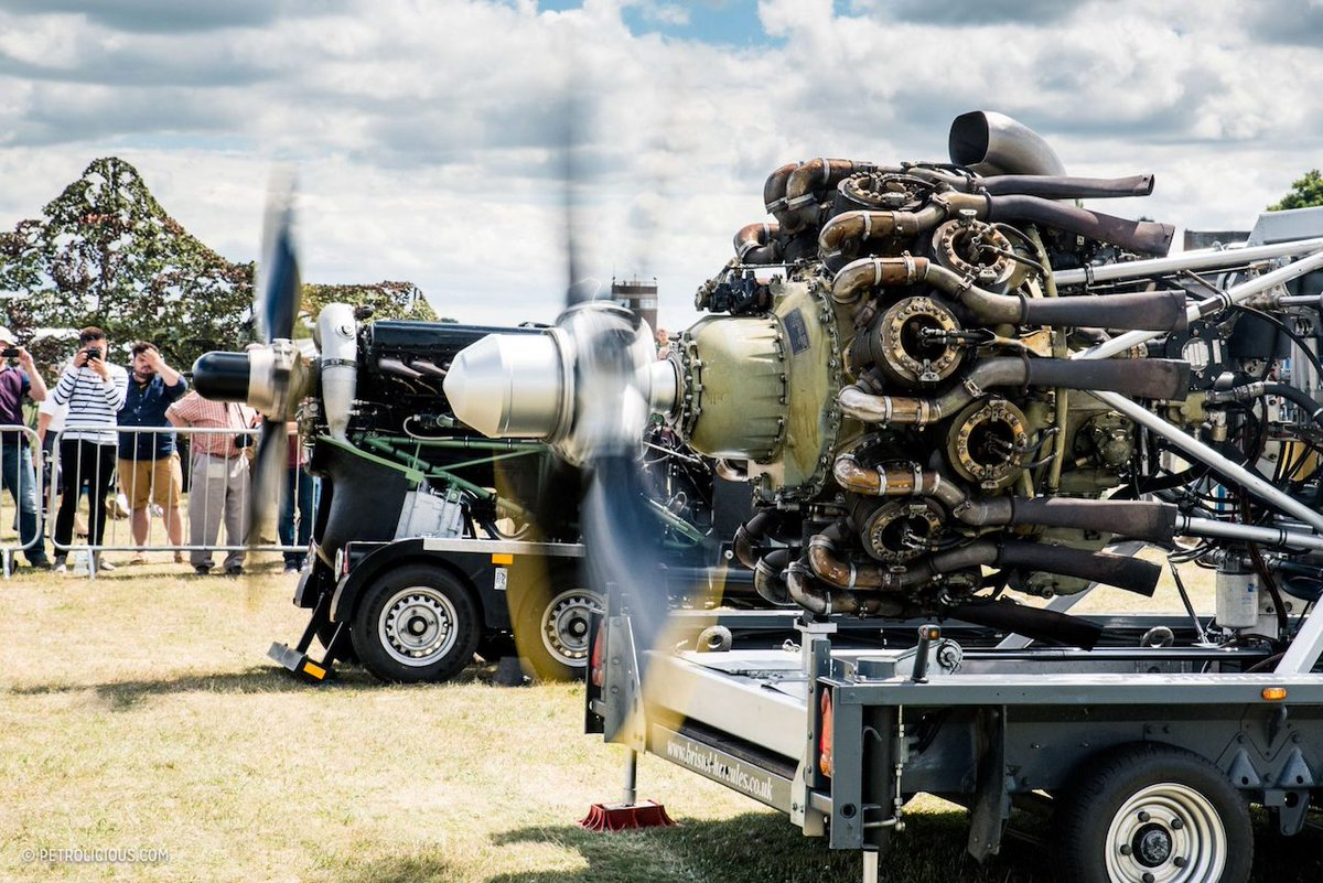 The next HAE event is the @RAFMUSEUM @RAF_Cosford Armed Forces Day. We will have a Bristol Hercules and a Rolls-Royce Merlin aero engines ground running during Saturday 👍