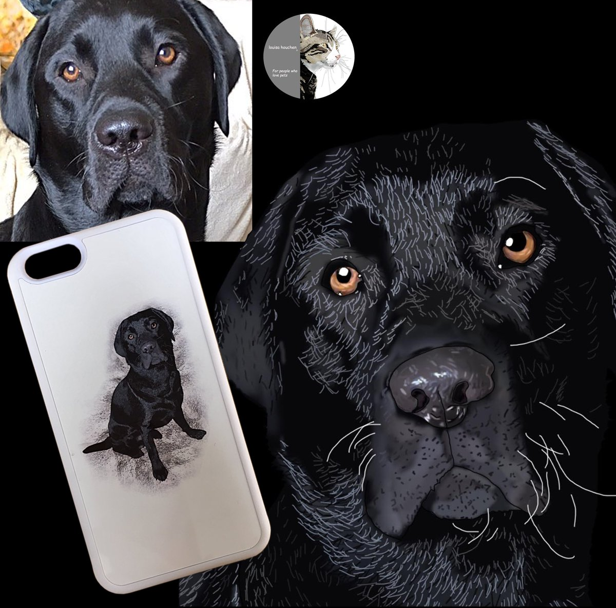 Pet portraits on products  https:// louisahouchen.artweb.com /     Check out my prices and reviews, you won't be disappointed!  #UKGiftAM #weekendvibes #art<br>http://pic.twitter.com/84RrIGOBuJ