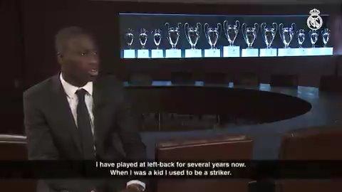 🎙💬 ENTRETIEN EXCLUSIF | MENDY 🇫🇷 @ferland_mendy: Cest un rêve de pouvoir être entraîner par #Zidane. On connaît tous la carrière quil a eu et son palmarès. #WelcomeMendy | #HalaMadrid
